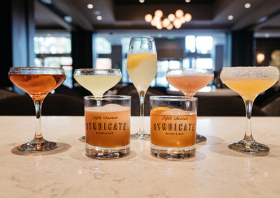 Fifth Avenue Syndicate Signature Cocktails